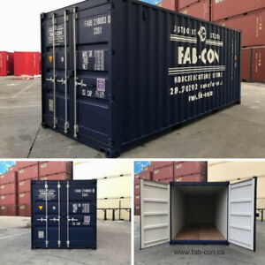 Steel Shipping Containers - New & Used Conditions for Sale!