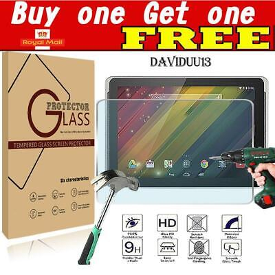 Genuine Tablet Tempered Glass Screen Protector Cover For HP 10 Plus 2201 ()