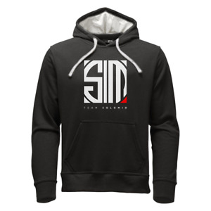 "TSM ""red line"" hoodie black - size small - never worn/washed"