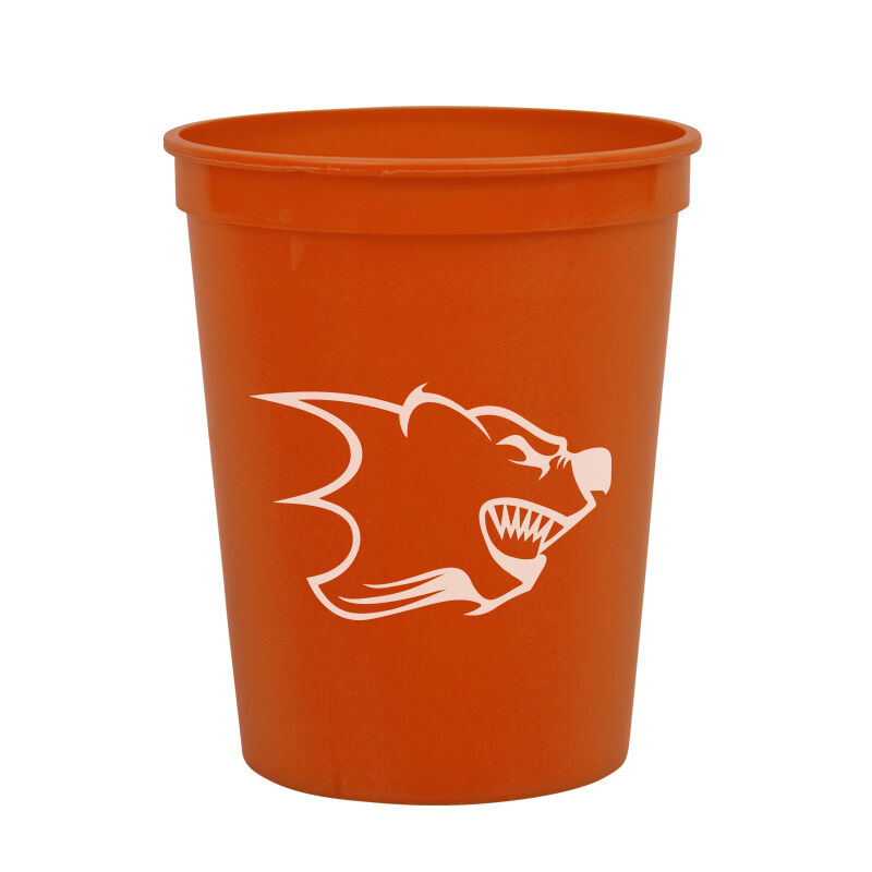Personalized 250 Made In USA Stadium Cups Customized with Your Logo or Message