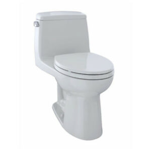 TOTO MS854114 Ultimate One Piece Elongated Toilet Colonial White