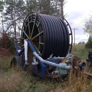Irrigation Reel , Pump and  Pipe