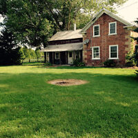 Hobby Farm and House for Rent - 120 Acres