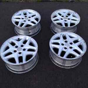 """REDUCED set of 16"""" aluminium rims for sale $225 OBO"""