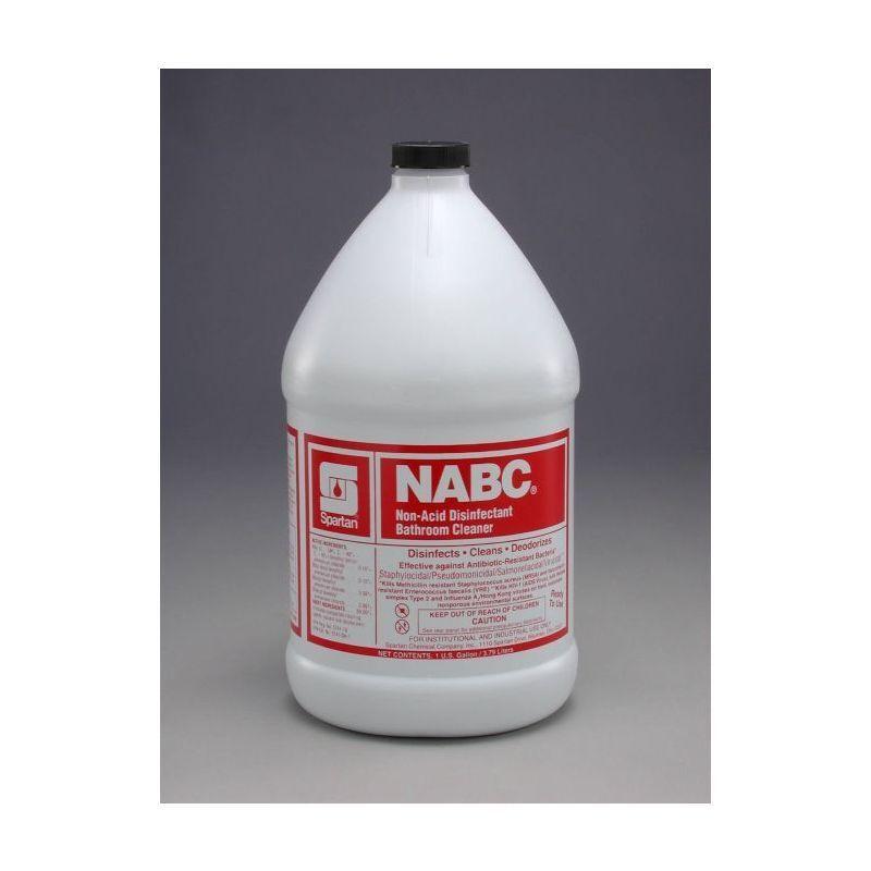 Spartan NABC Bathroom Cleaner, Gallon, Gallons, 4/Case