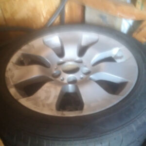 225/50/r17 bmw mags and ties nego