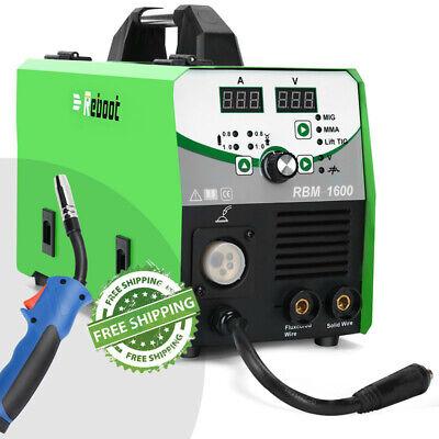 Mig Tig Welder 160a Igbt Inverter Flux Core Wire 5 In 1 Welding Machine Torch