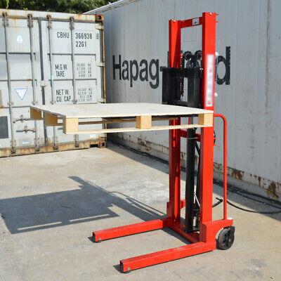 Hand Pump Lift Shifttruck Jack Forklifts Hand Pallet Stacker 63 Lifting Height