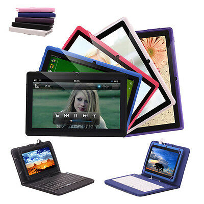 """iRULU Tablet PC eXpro X1 7"""" Android 4.4 Quad Core 8GB Dual Cam Keyboard Optional"""