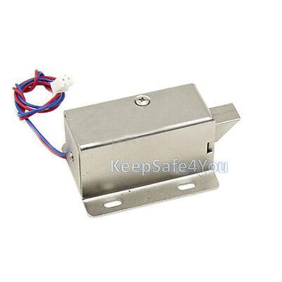 Mini Electric Plug Lock 12v Cabinet Electric Bolt Lock Storage Electronic Drawer