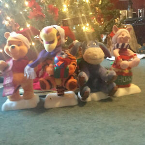 Christmas Winnie The Pooh and friends Kawartha Lakes Peterborough Area image 1