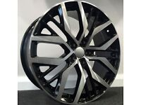 "19"" Santiago Style Alloy Wheels. Seat Leon, Audi A3. VW Passat, Jetta, Golf MK5, MK6, MK7,Caddy"