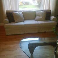 3 seat sofa and single seat side sofa