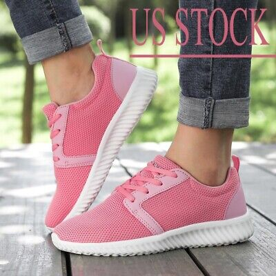 Women's Sneakers 2 Pairs Breathable Casual Tennis Running Shoes Walking Hiking Hiking Walking Shoes