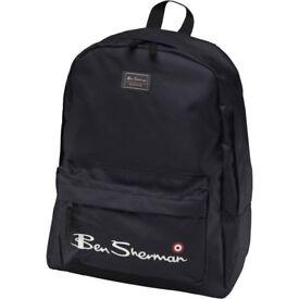 Ben Sherman Boys Core Backpack Black