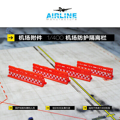 1/400Airport GSE - Airline Manufacture Blast Fence Type Model (4 pieces sets) for sale  China