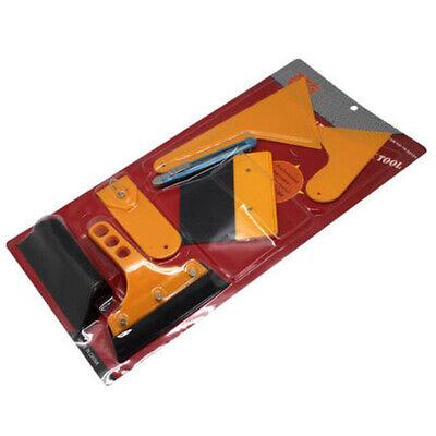 Car Wrap Sticker Scraper Kit Vinyl Wrapping Carbon Fiber Install Auto Tools Usa