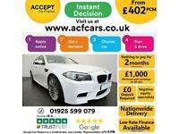 2014 WHITE BMW M5 4.4 DCT V8 560 BHP 4DR AUTO SALOON CAR FINANCE FR £402 PCM