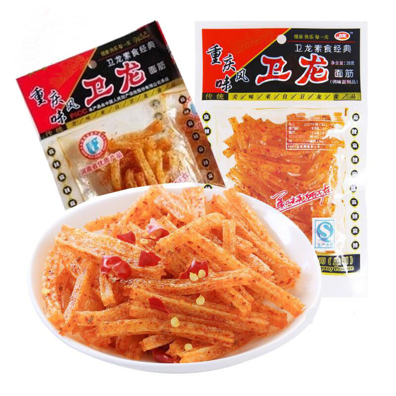 10bags X 18g Authentic Weilong Chinese Specialty Spicy Snack