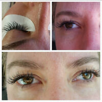 50% MINK Eyelash Extensions- Trained and Certified!