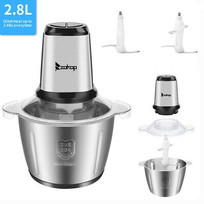 2.8l Electric Meat Grinder Home Kitchen Industrial Stainless Steel Sausage Maker