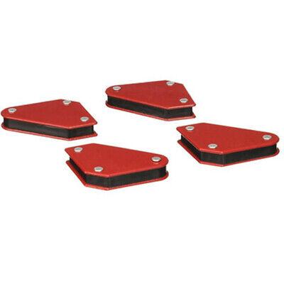 4pcs Welding Magnet Magnetic Square Welder Holder Arrow Clamp 45 90 135 9lb