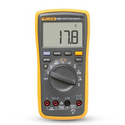Fluke 17b F17b Digital Multimeter Meter Tester Dmm With Tl75 Test Leads New