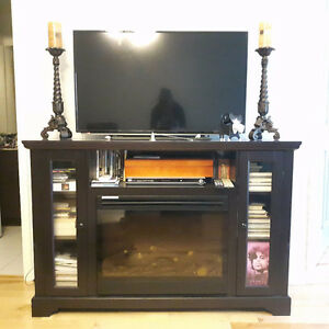 MUST GO - Electric fireplace / tv unit