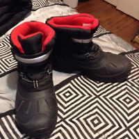 I have a pair of snickers nike and winter boot