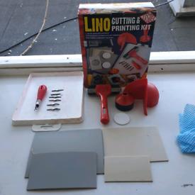 lino cutting and printing kit