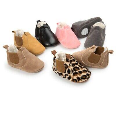 Krabbelschuhe Mädchen Jungen Stiefeletten Stiefel Baby Warm Krippe Schuhe Boots