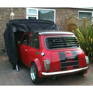 CLASSIC CAR COVER MINI MG STORAGE GARAGE BARN MOTORCYCLE CAR FOLDING SHED BIKE +