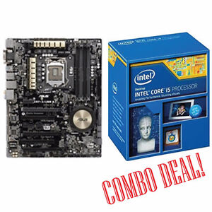 Combo Deal - i7-4790k CPU and Asus Z97-A USB 3.1 Motherboard