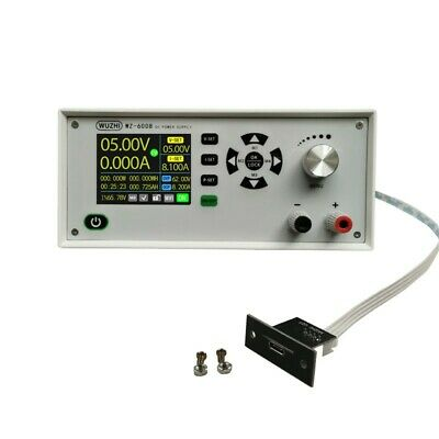 Wz-6008 Programmable Dc Power Supply Adjustable Step Down 2.4 Lcd 60v 8a Usb Sz
