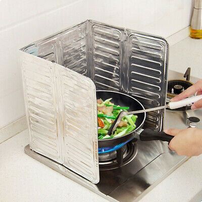 Kitchen Stove Foil Plate Prevent Oil Splash Tool Cooking Baffle Gadgets Supplies