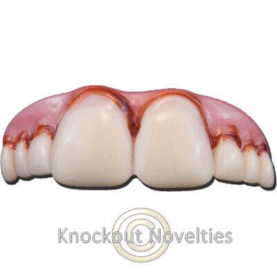 Mega Bucks Teeth Funny Novelty Fake Teeth Tooth Mouth Smile - Fake Buck Teeth