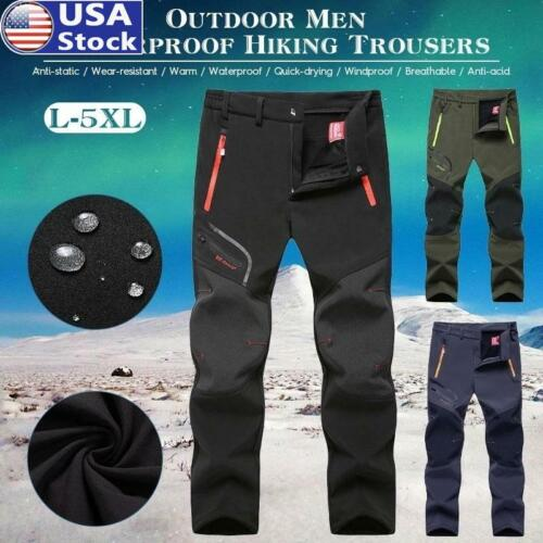 Men Women's Hiking Pants Outdoor Lightweight Breathable Quic