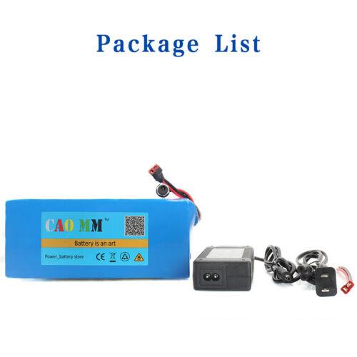36V 14Ah Lithium li-ion Battery Pack 750W ebike Bicycle E Bike Electric charger