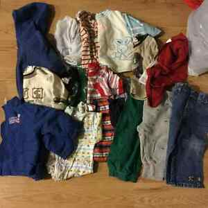 Baby boy size 3-9 Majority winter items