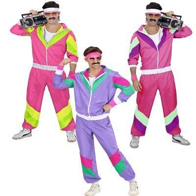 80er Jahre Assi Proll Jogginganzug Herren Kostüm - Trainingsanzug Karneval (80er Jahre Kostüme)