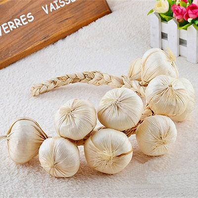 1 artificial string garlic faux fruit fake ...