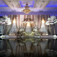DECOR SHOWROOM OPEN TO PUBLIC.  WEDDING BACKDROPS. CALL TODAY