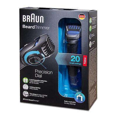 Braun BT5030 - Bartschneider - in blau **NEU**OVP**LAGERND**