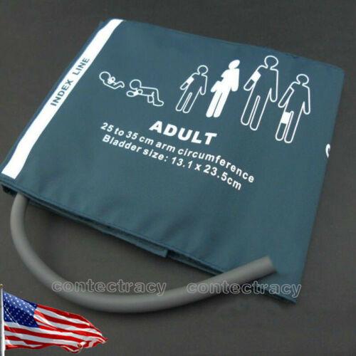 US ship NIBP Adult cuff for CONTEC Patient Monitor,25-35CM,Reusable 1y warranty