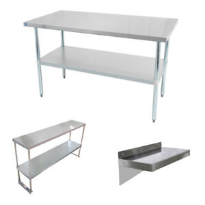 Stainless steel tables, shelves, sinks, Grease traps on Sale