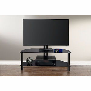 """Insignia TV Stand for TVs Up to 50"""" (NS-HMGC1644-C) - Black"""
