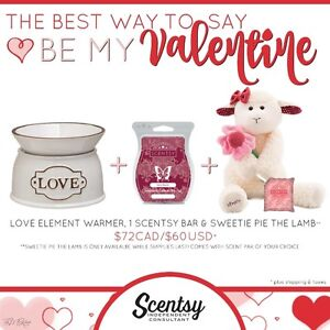 Roseland Scentsy-FREE WARMER!