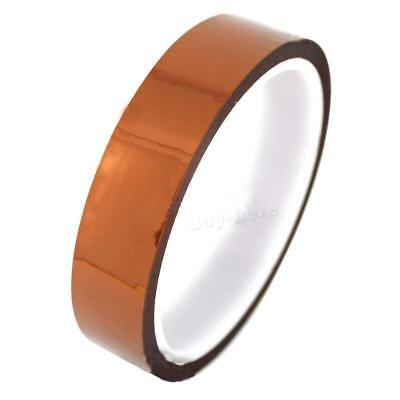 Usa 20mm 2cm X 30m 100ft Kapton Tape High Temperature Heat Resistant Polyimide