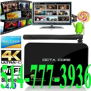 Android TV Box Smart 5.1 RK3368 Octa Core 64 Bits 32GB 4K Kodi