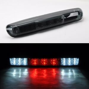 chevy silverado cargo light chevy silverado gmc sierra 2007 2013 smoke 3rd full led brake cargo light